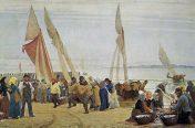 P.S. Krøyer Morgen ved Hornbæk 1875