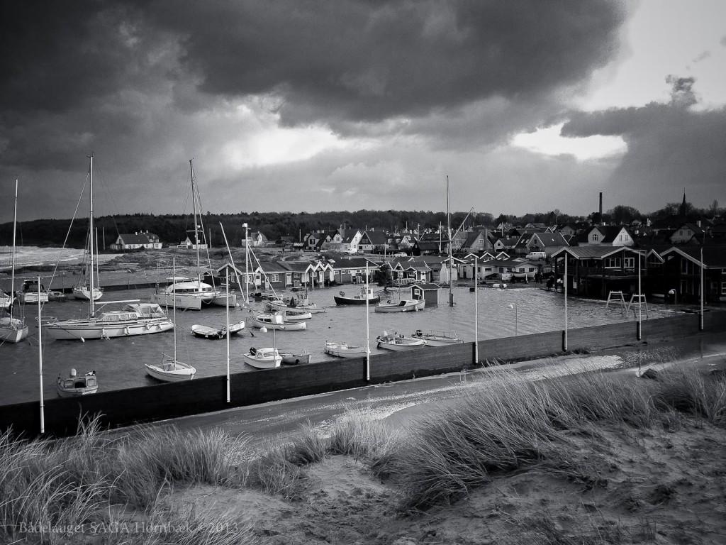 Storm over Hornbæk December 2013